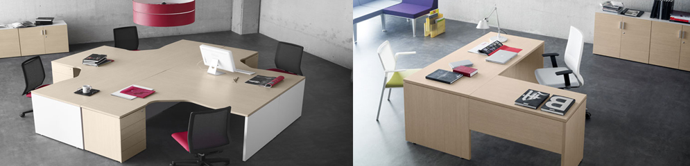Muebles de oficina operativos | Mesas de oficina en Madrid